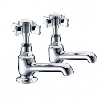 Arley 237EEDW02-N Edwardian Bath Pillar Taps